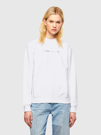 Diesel - F-ANG-COPY, White - Sweaters - Image 1