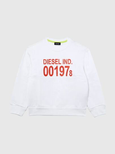 Diesel - SGIRKJ3 OVER, White - Sweaters - Image 1