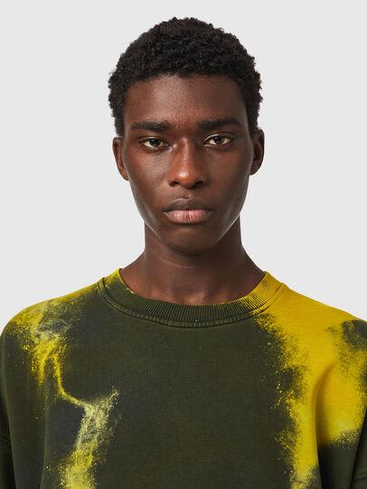 Diesel - S-MART-RIB, Yellow/Green - Sweaters - Image 5