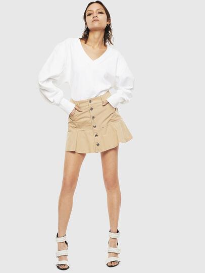 Diesel - O-BETH, Beige - Skirts - Image 6