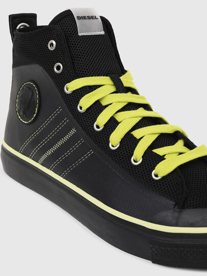 Diesel - S-ASTICO MC H, Black/Yellow - Sneakers - Image 4
