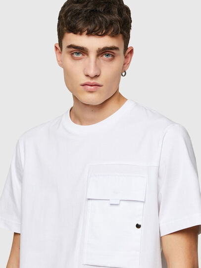 Diesel - T-WORKAN, White - T-Shirts - Image 3