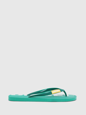 SA-BRIIAN, Green - Slippers