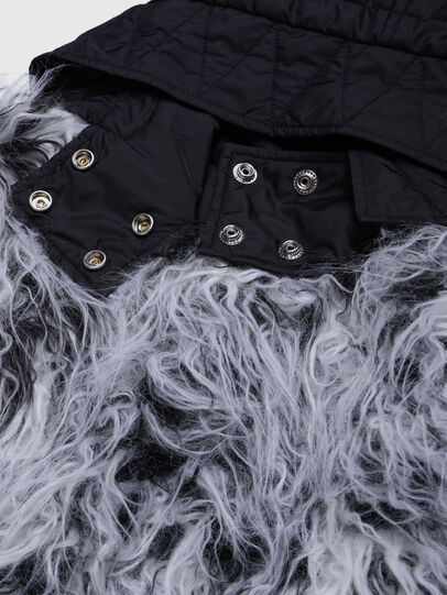 Diesel - JMILA, Black/White - Jackets - Image 3