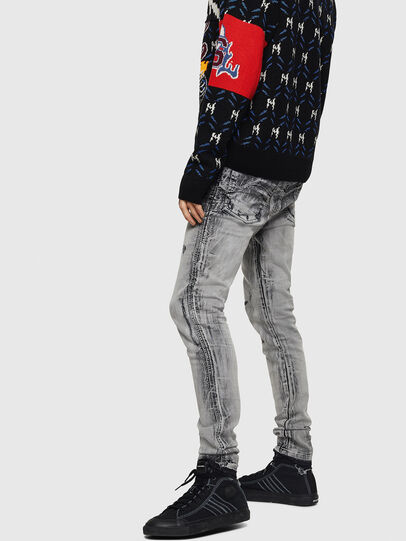 Diesel - D-Reeft JoggJeans 084AH, Black/Dark grey - Jeans - Image 6