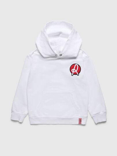 Diesel - LR SGIRKHOOD VIC, White - Sweaters - Image 1
