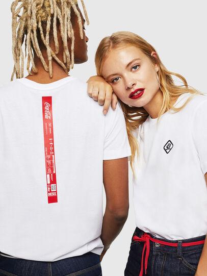 Diesel - CC-T-DIEGO-COLA, White - T-Shirts - Image 6