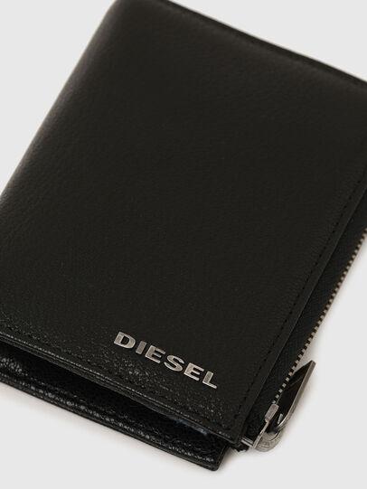 Diesel - L-12 ZIP, Black/Blue - Small Wallets - Image 5