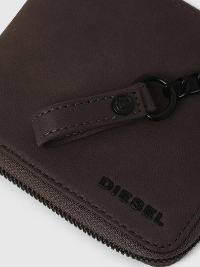 Diesel - ZIPPY HIRESH S WITH, Dark grey - Zip-Round Wallets - Image 5