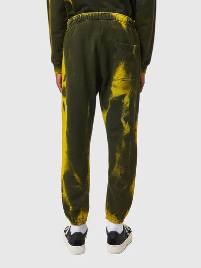 Diesel - P-CALTON-RIB-B1, Yellow/Green - Pants - Image 3