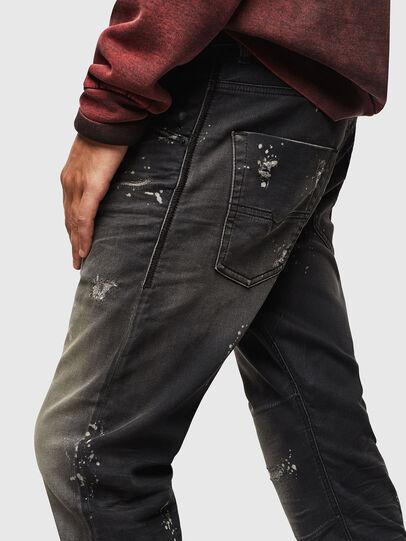 Diesel - Krooley JoggJeans 084AE, Black/Dark grey - Jeans - Image 4
