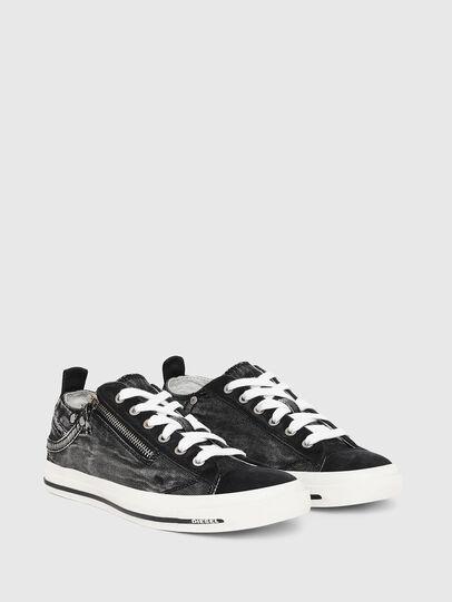Diesel - EXPO-ZIP LOW W, Black Jeans - Sneakers - Image 2