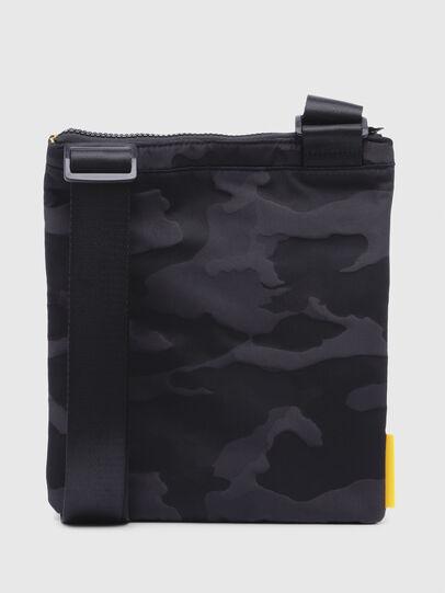 Diesel - F-DISCOVER CROSS, Black/Yellow - Crossbody Bags - Image 2
