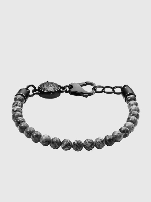 Diesel - BRACELET  DX1015, Dark grey - Bracelets - Image 1