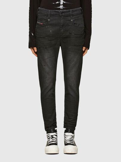 Diesel - Fayza JoggJeans 069QL, Black/Dark grey - Jeans - Image 1