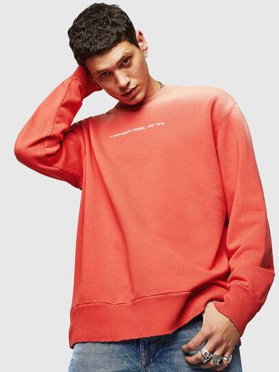 Diesel - S-BAY-SUN, Orange - Sweaters - Image 1