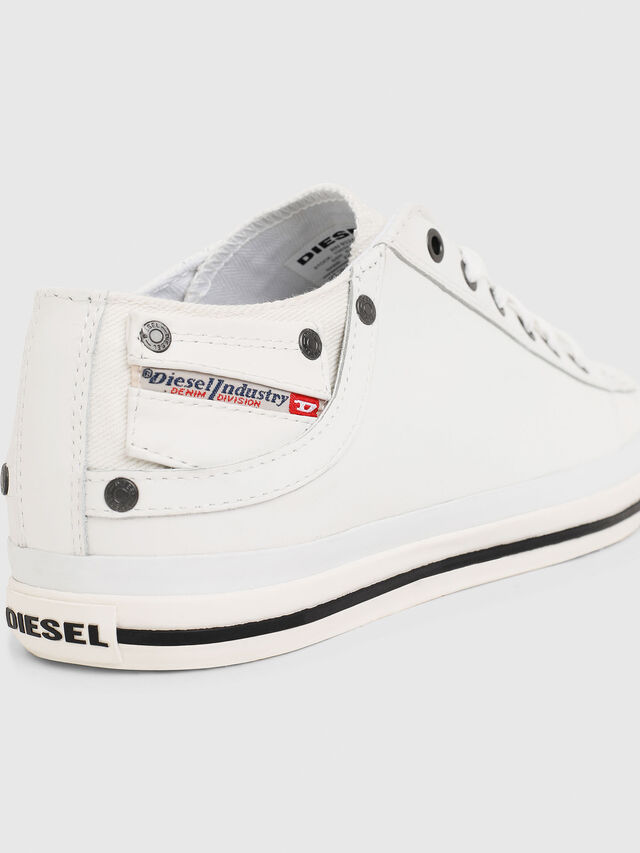 Diesel - EXPOSURE LOW I, White - Sneakers - Image 4