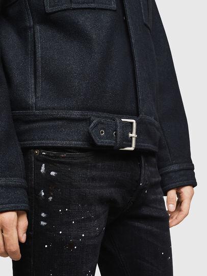 Diesel - W-VLADIMIR, Black - Winter Jackets - Image 6