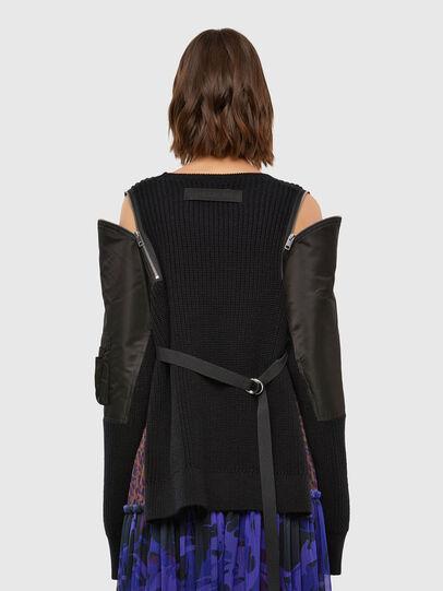 Diesel - M-CLARE, Black - Knitwear - Image 2