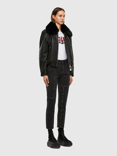 Diesel - D-Joy 009KY, Black/Dark grey - Jeans - Image 7