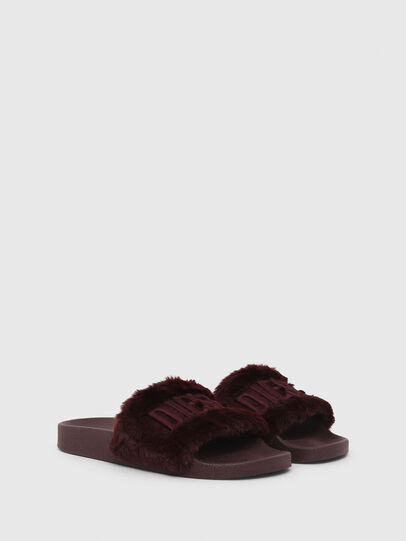 Diesel - SA-VALLA R W, Bordeaux - Slippers - Image 2