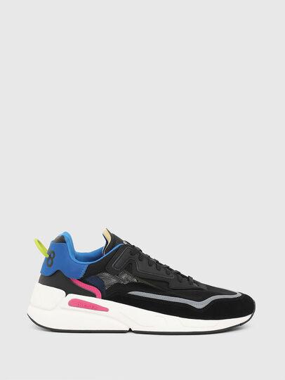 Diesel - S-SERENDIPITY SM, Black/Blue - Sneakers - Image 1