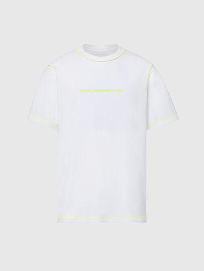 Diesel - T-JUSEAM, White - T-Shirts - Image 1