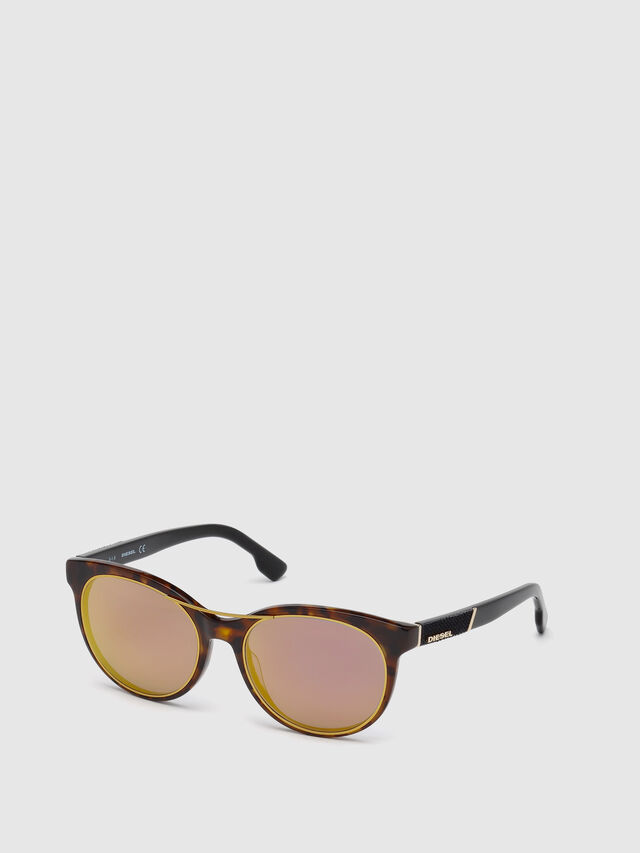 Diesel - DL0213, Brown - Eyewear - Image 4