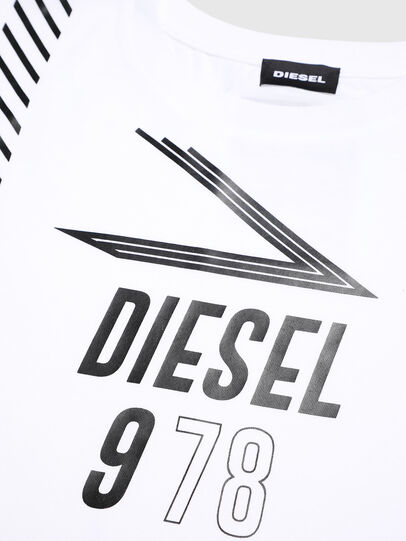 Diesel - TJTITA, White - T-shirts and Tops - Image 4