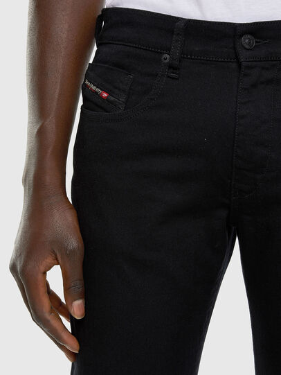 Diesel - D-Strukt 0688H, Black/Dark grey - Jeans - Image 3