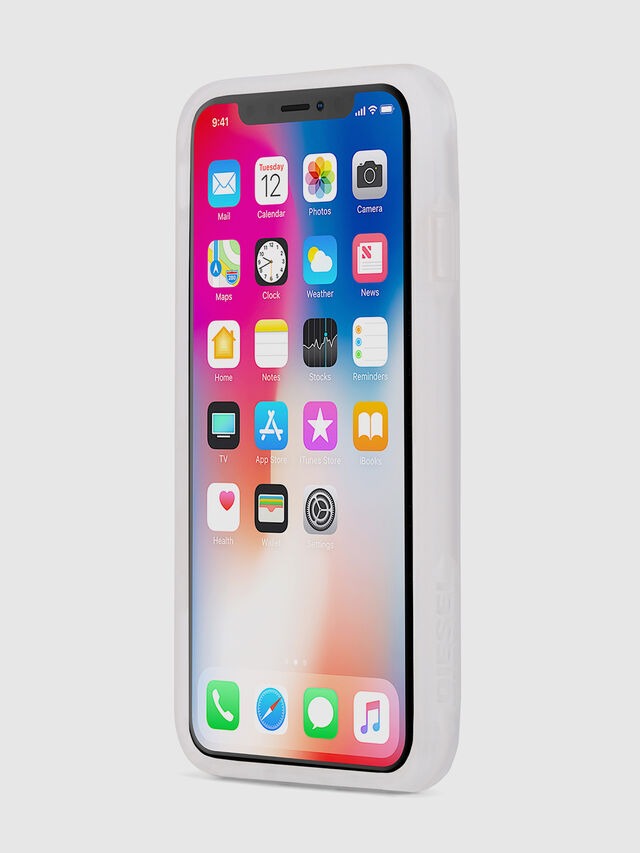 BLAH BLAH BLAH IPHONE X CASE, White