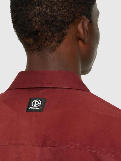 Diesel - S-GUNN-TIE, Red - Shirts - Image 4