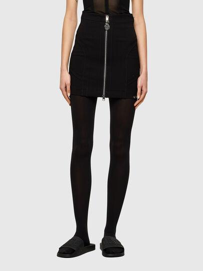 Diesel - O-STRIT, Black - Skirts - Image 1
