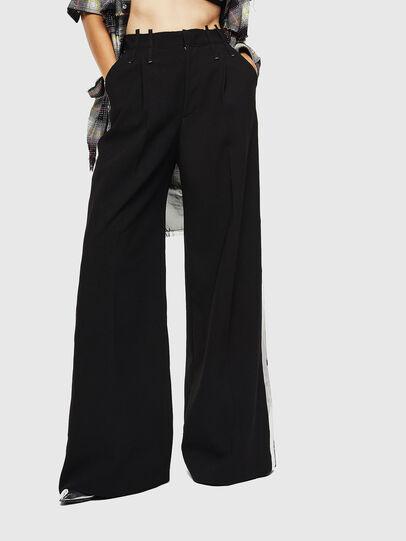 Diesel - P-MALIK-A, Black - Pants - Image 1