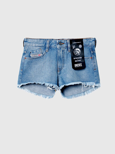Diesel - DE-RIFTY, Light Blue - Shorts - Image 6