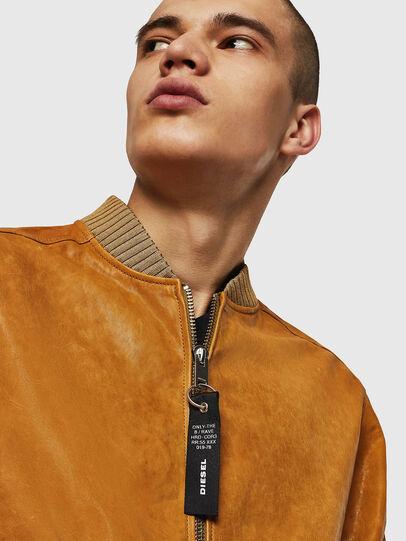 Diesel - L-DAVIDOV,  - Leather jackets - Image 5