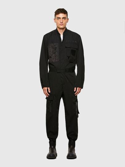 Diesel - P-DEVO, Black - Jumpsuits - Image 1