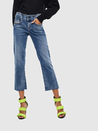 Diesel - D-Ebbey 009AA, Medium blue - Jeans - Image 1