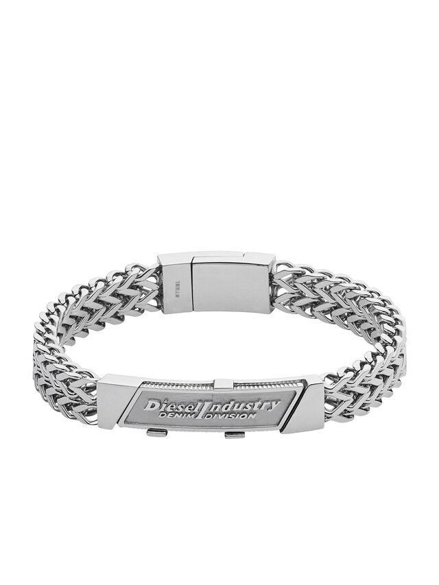 Diesel - BRACELET DX1033, Silver - Bracelets - Image 1