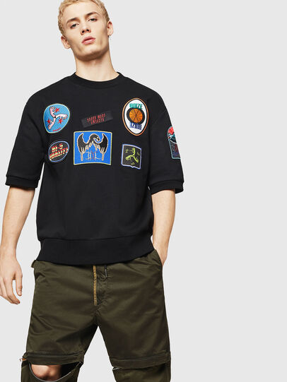 Diesel - S-MAGGY-SH-PATCH,  - Sweaters - Image 4