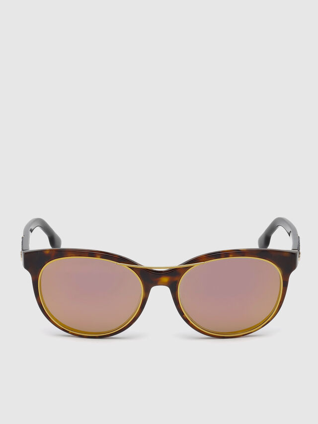 Diesel - DL0213, Brown - Eyewear - Image 1