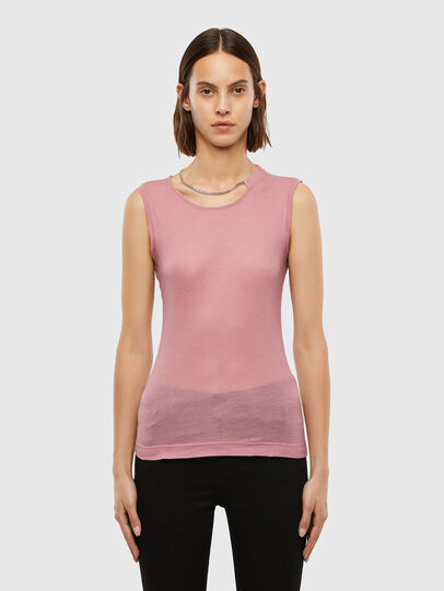 Diesel - T-CHANNY, Pink - Tops - Image 1