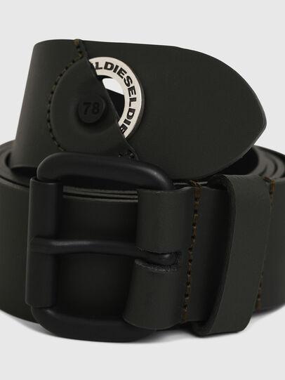 Diesel - B-IRI, Olive Green - Belts - Image 2