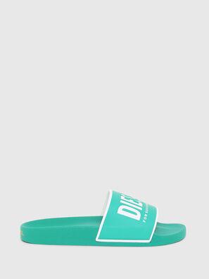 SA-VALLA, Green - Slippers