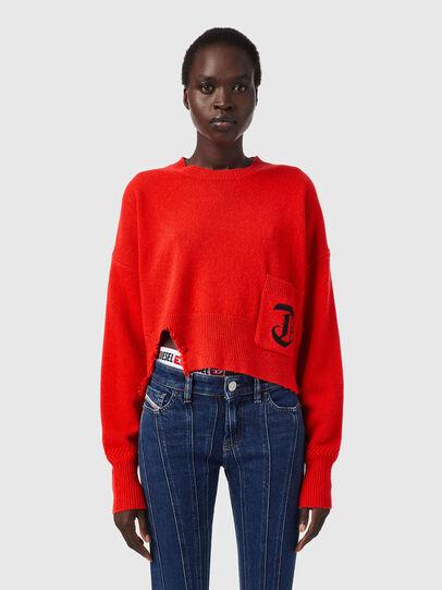 Diesel - M-IDAHI, Orange - Knitwear - Image 1