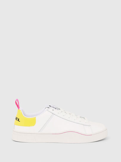 Diesel - S-CLEVER LOW LACE W, White/Yellow - Sneakers - Image 1