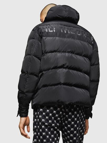 Diesel - W-SMITH-YA, Black - Winter Jackets - Image 2