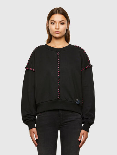 Diesel - F-TWISTER, Black - Sweaters - Image 1