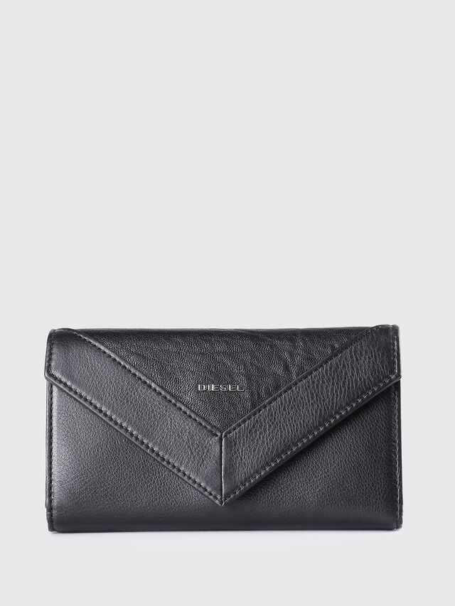 Diesel - GIPSI, Black - Small Wallets - Image 1