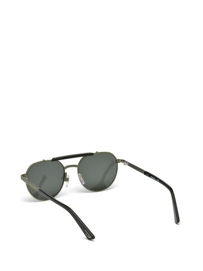 Diesel - DL0239, Military Green - Sunglasses - Image 2